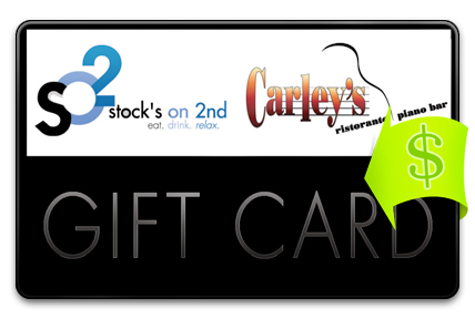 Recharge your Stock's on 2nd Gift Card