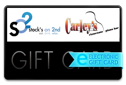 Stock's on 2nd E-Gift Card