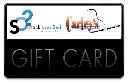 Stock's on 2nd Physical Gift Card